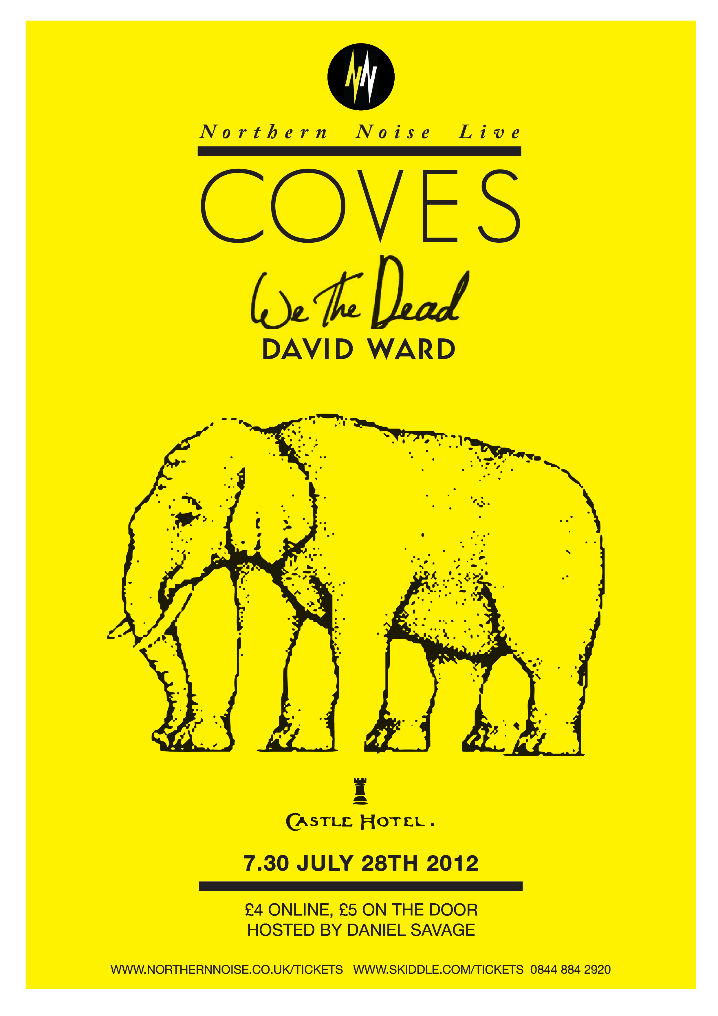 Northern Noise Live Poster Feat. Coves + others